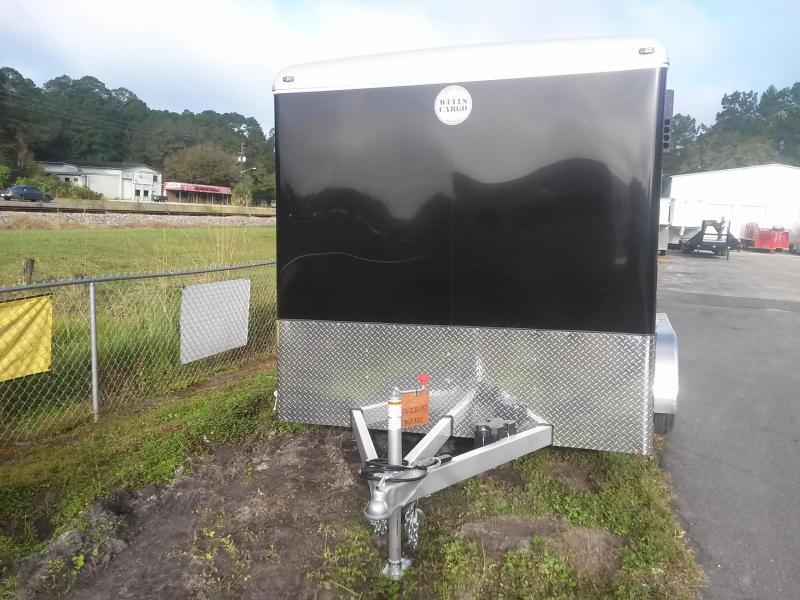 CW1222-102 WELLS CARGO 7X12 CARGO WAGON ENCLOSED CARGO TRAILER W/ RECESSED E-TRACK