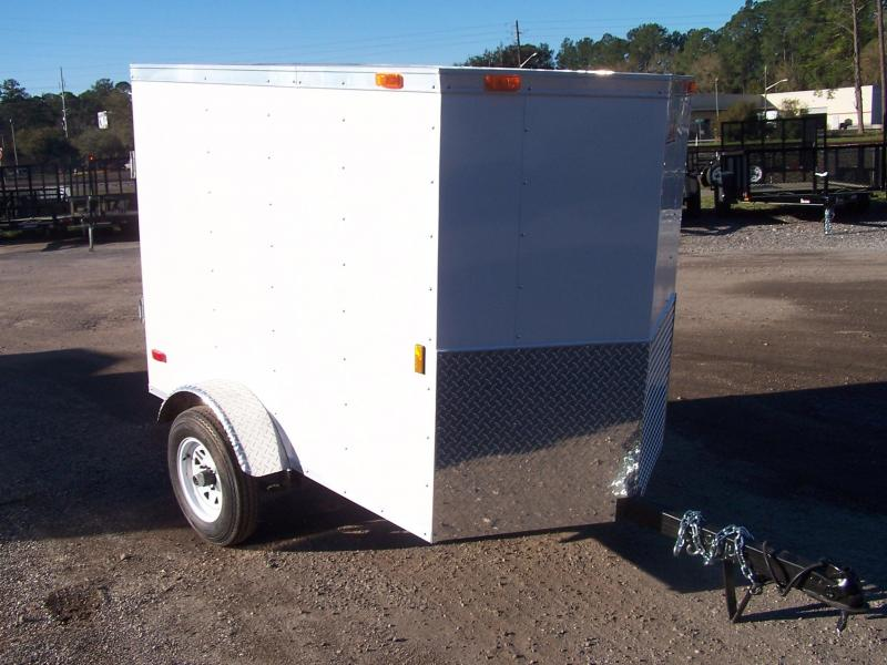 GAVHW46SA CARGO MATE 4 X 6 ENCLOSED CARGO TRAILER
