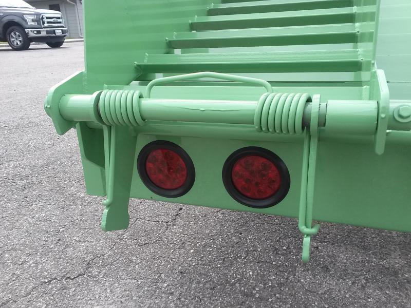 FB2520B TEXAS TRAILERS 25' BUMPER PULL DECK OVER FLATBED W/ CUSTOM OPTIONS