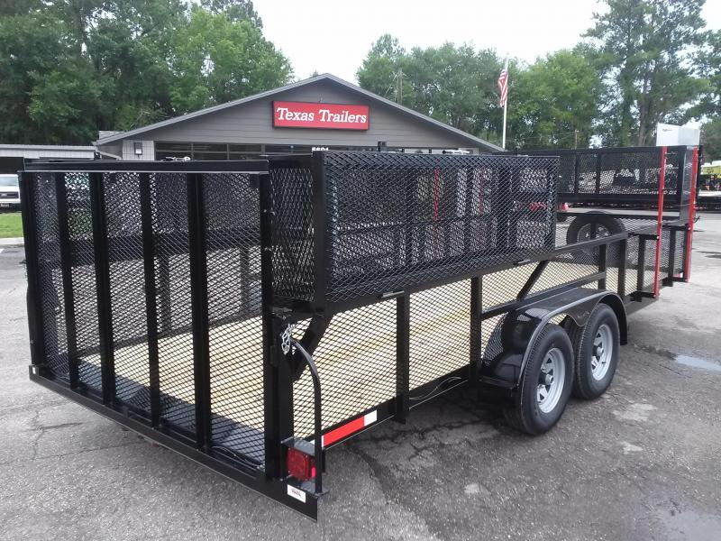 Lm62010 Texas Trailers 6 10 Quot X20 Lawn Maintenance Trailer