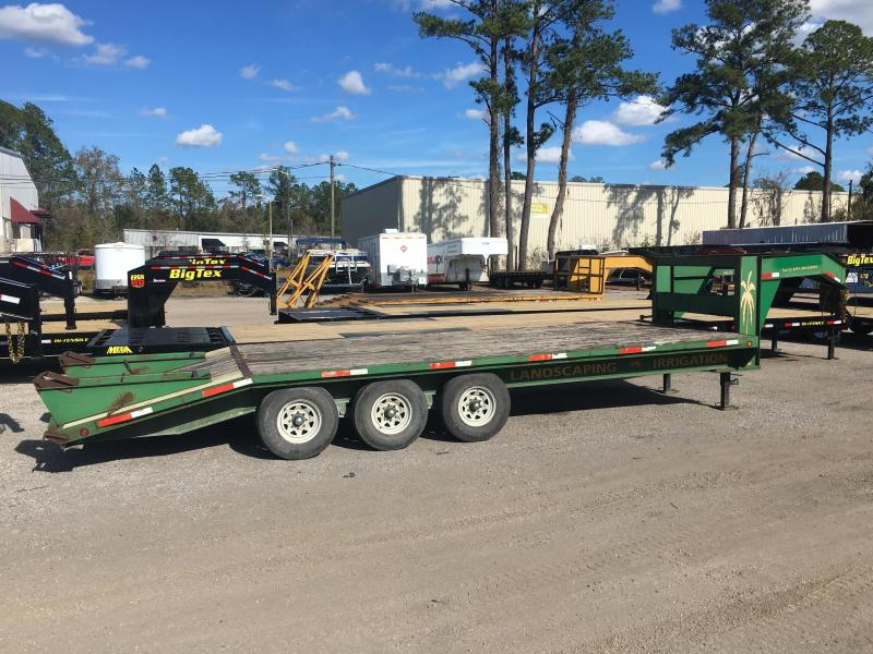 2004 TRLW 25' TRIPLE AXLE FLATBED TRAILER