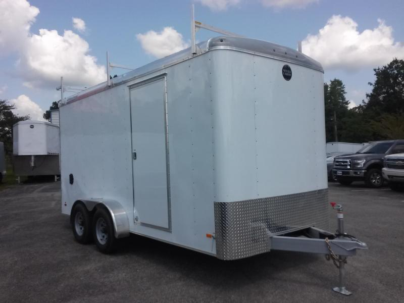 RF7X162 WELLS CARGO 7X16 ROAD FORCE ENCLOSED CARGO TRAILER W/ CUSTOM OPTIONS