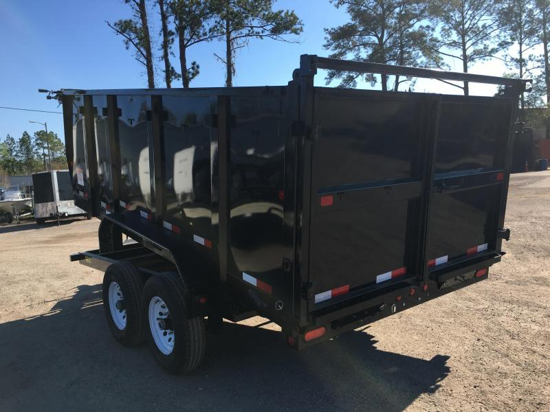 14lx 14 Big Tex 7 X 14 Dump Trailer W 4 Sides Texas