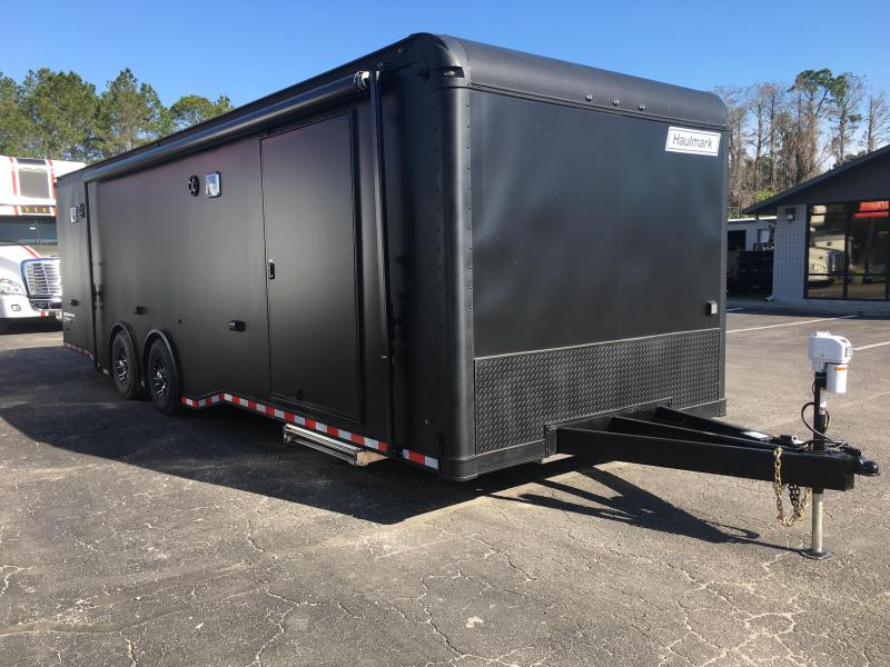 EGP85X28WT4 HAULMARK 28' EDGE PRO RACE TRAILER W/ CUSTOM OPTIONS