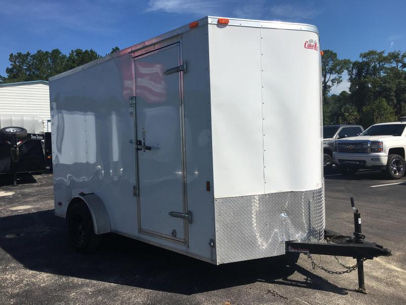 2016 CARGO MATE 7 X 12 CARGO TRAILER W/ EXTRA HEIGHT & CUSTOM OPTIONS