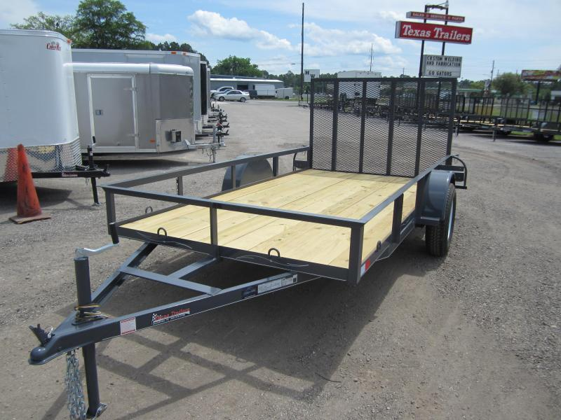 UT61235 TEXAS TRAILERS 6'4