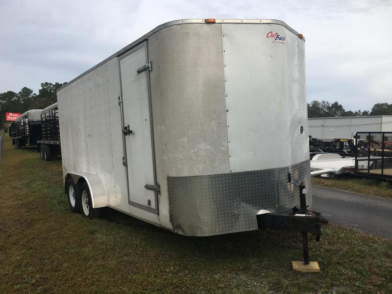 2010 PACE 7 X 16 CARGO TRAILER W/ NEW FLOOR