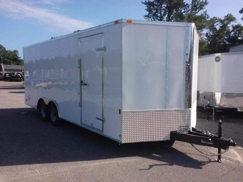 GANS8520TA3 CARGO MATE 8.5 X 20 ENCLOSED CAR HAULER W/ 5200# AXLES