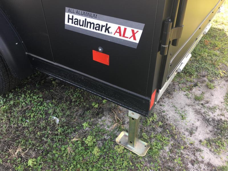 HAMV75X14WT2 HAULMARK 7.5 X 14 ALUMINUM MOTORCYCLE TRAILER