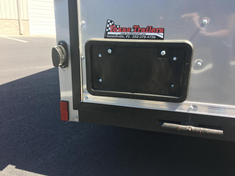 JV6X12SI2 PACE AMERICAN 6 X 12 ENCLOSED CARGO TRAILER