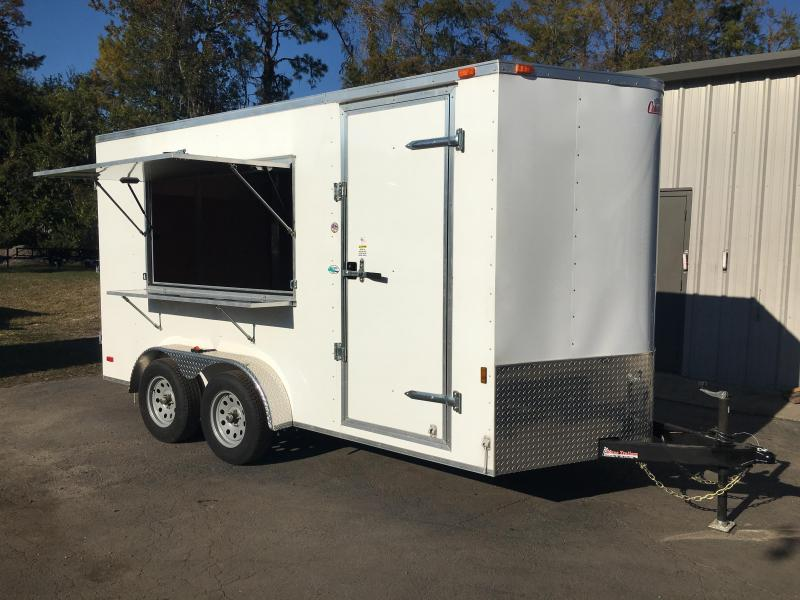 GANS714TA2 CARGO MATE 7 X 14 CONCESSION TRAILER W/ OPTIONS