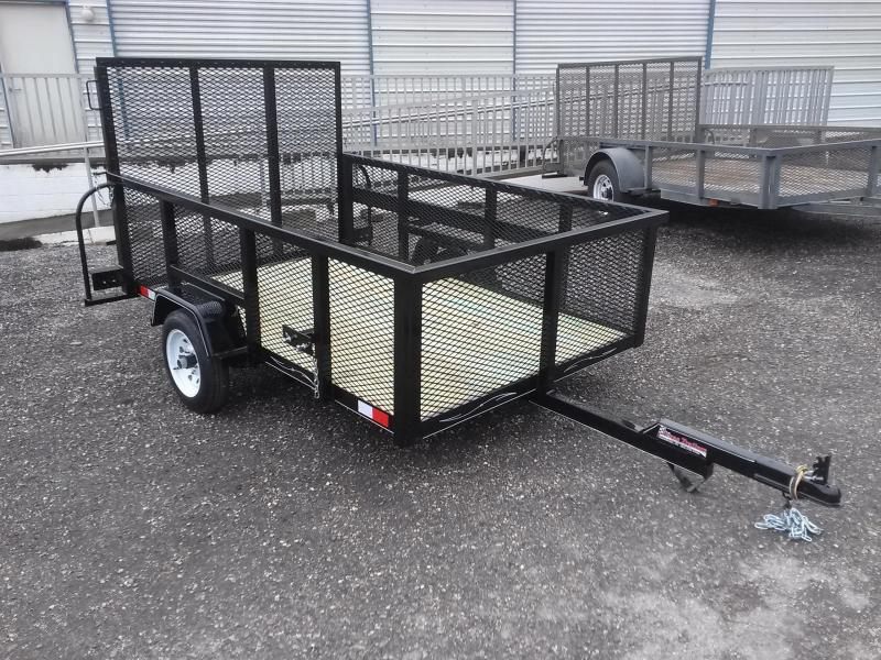 Lm5820 texas trailers 5x8 lawn maintenance trailer for Garden maintenance trailer