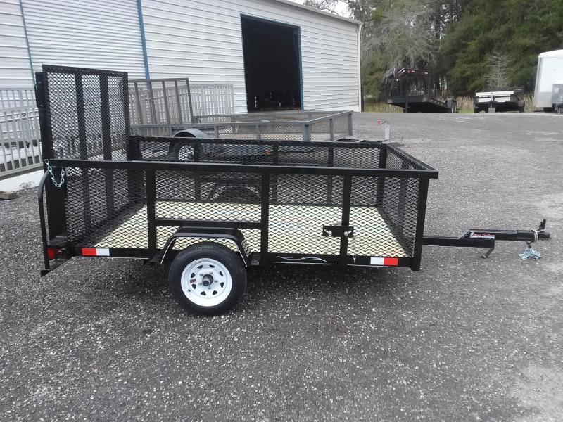 Lm5820 texas trailers 5x8 lawn maintenance trailer texas for Garden maintenance trailer