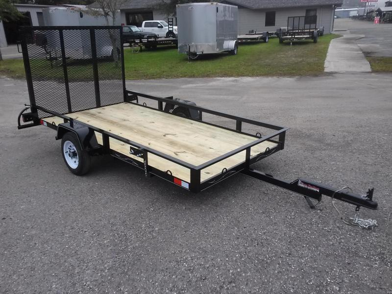 Ut51020 texas trailers 5x10 utility trailer for 5x10 wood floor trailer