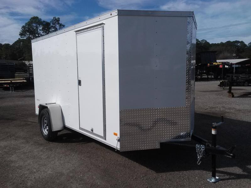 CT6X121 WELLS CARGO 6X12 CARGO TRAC ENCLOSED CARGO TRAILER