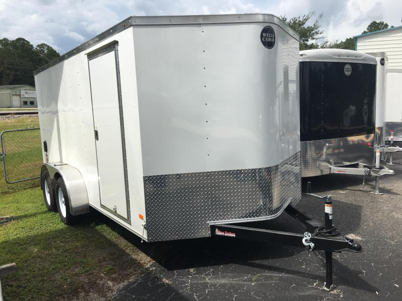 FT7142 WELLS CARGO 7 X 14 FAST TRAC ENCLOSED CARGO TRAILER