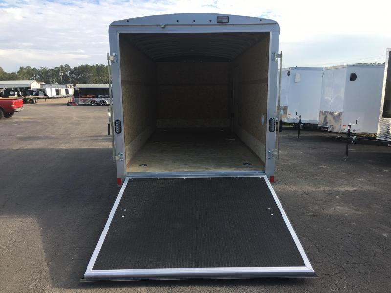 RFLS7X162 WELLS CARGO 7X16 ROAD FORCE ENCLOSED CARGO TRAILER W/ CABLE-LESS RAMP DOOR
