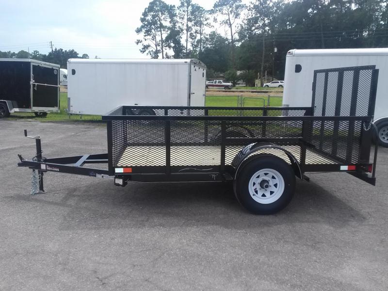 lm51035 texas trailers 5x10 lawn maintenance trailer On garden maintenance trailer