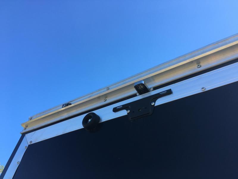 WAUV85X2424 WELLS CARGO 8.5X24 SILVER SPORT ALUMINUM ENCLOSED CAR HAULER W/ CUSTOM OPTIONS