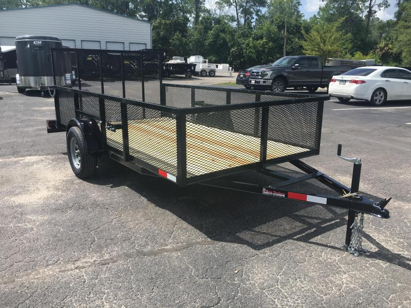 "LM61035 TEXAS TRAILERS 6'4""X10' LAWN MAINTENANCE TRAILER"