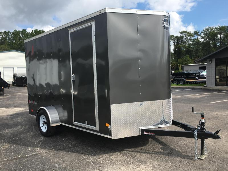 FT7121 WELLS CARGO 7 X 12 ENCLOSED CARGO TRAILER W/ 12
