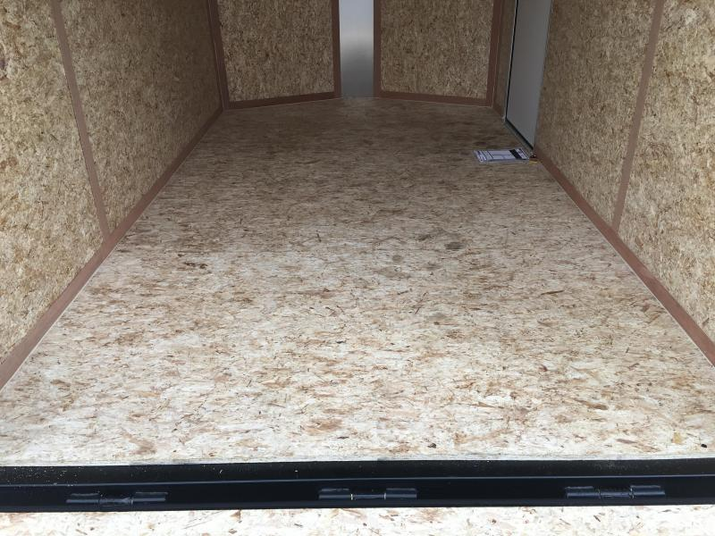 """FT7121 WELLS CARGO 7 X 12 ENCLOSED CARGO TRAILER W/ 12"""" ADDITIONAL HEIGHT"""
