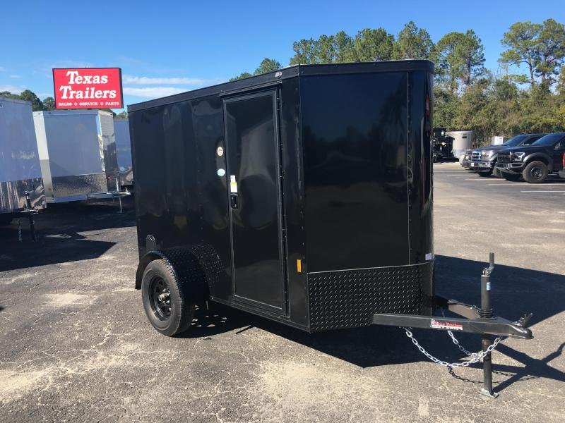 GANS58SA CARGO MATE 5 X 8 ENCLOSED CARGO TRAILER W/ BLACKOUT PACKAGE