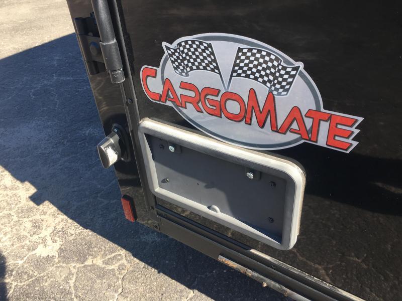 GANS58SA CARGO MATE 5 X 8 ENCLOSED CARGO TRAILER W/ BLACKOUT PACKAGE