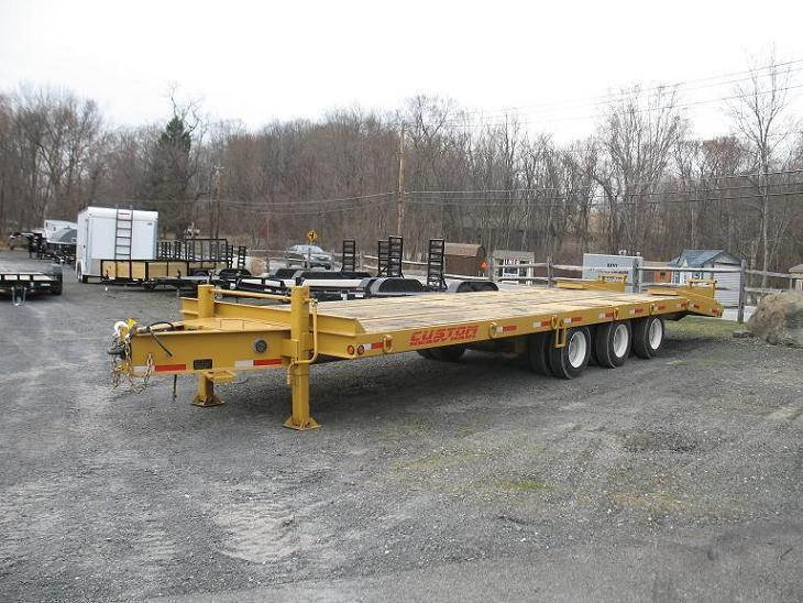 Custom Heavy Haul 25-30 Ton Equipment Trailers