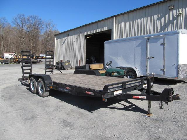 2011 Sure-Trac 20 Ft Implement Trailer