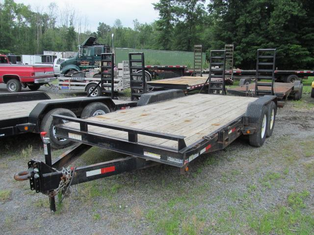 2010 Sure-Trac 7 X 18 14K Implement Trailer