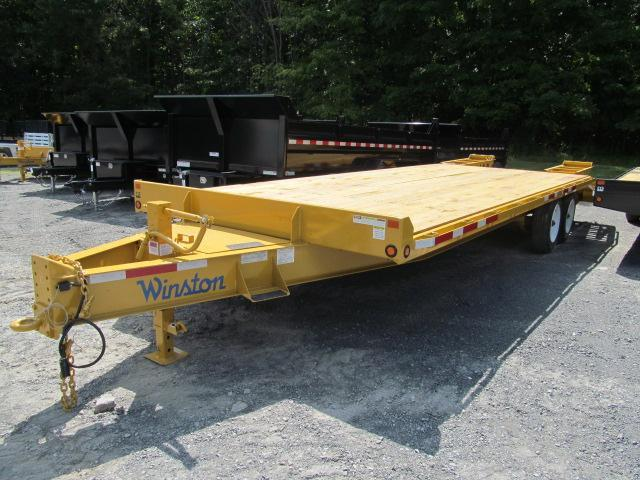 2017 Winston 8 Ton Deckover Equipment Trailer