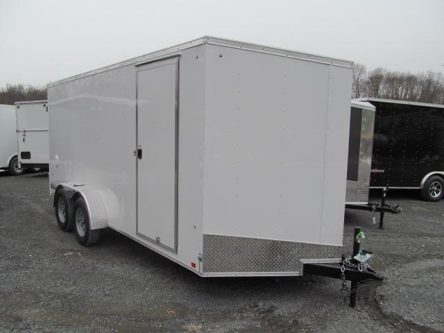 2018 Cargo Express EX DLX 7 X 16 Enclosed Trailer