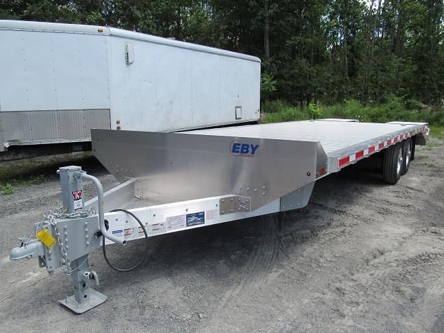 Eby Trailers 24 Ft Flatbed Deckover Equipment Trailer