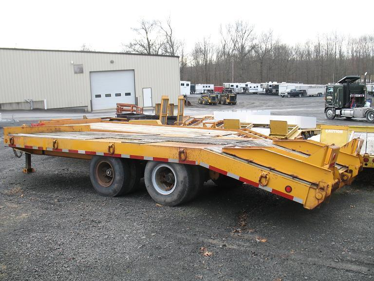 1986 Pace 20 Ton Equipment Trailer | Horse, Stock, Utility, Car, Equipment, Motorcycle, and ...