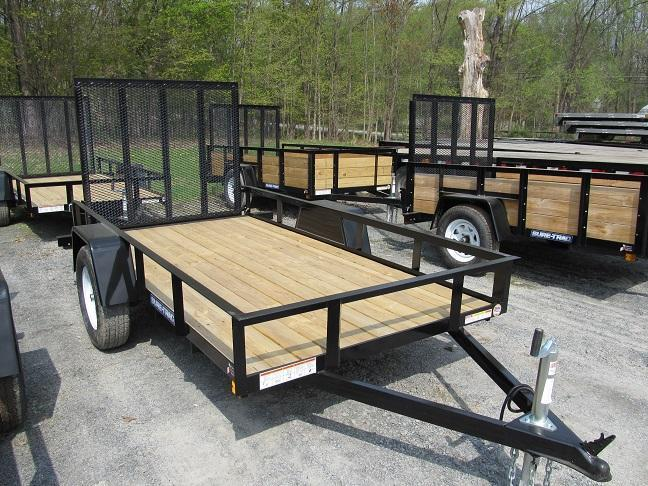 Sure-Trac Single Axle Utility Trailer