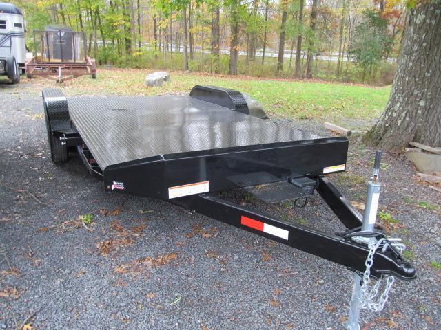 2017 Sure-Trac 7 x 18 Steel Deck Car Trailer