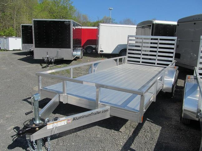 ATC Double Axle Open Landscape Trailer