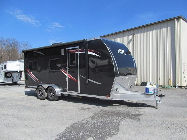 Aluminum Trailer Company RV Living Quarters Toy Hauler