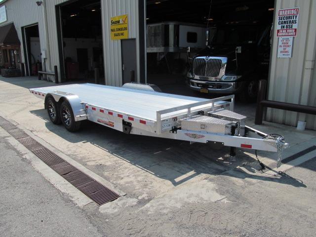 2017 H and H Trailer 82 X 20 Aluminum Speed Loader