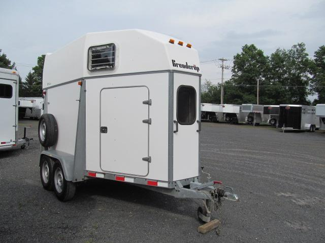 2000 Brenderup Royal HB 2 Horse Trailer