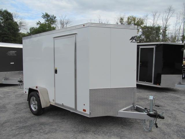 2018 Aluminum Trailer Company 6 X 10 Wedge Front All Aluminum Enclosed Cargo Trailer