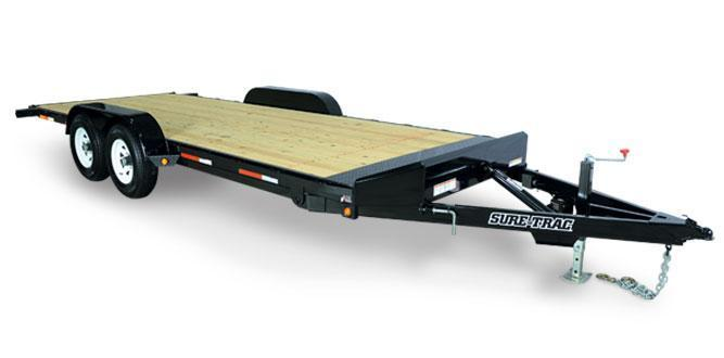 Sure-Trac Tilt Bed Car / Racing Trailer