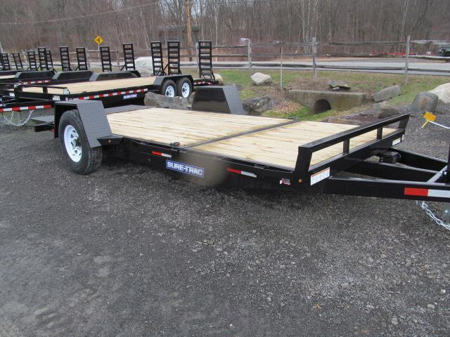 Sure-Trac Single Axle Roller Tilt Trailer Equipment Trailer