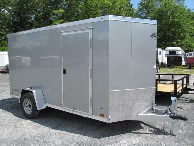 2018 Aluminum Trailer Company 6 X 12 Wedge Front All Aluminum Enclosed Cargo Trailer