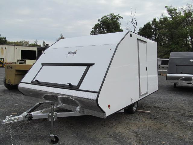 2018 Mission 2 Place Crossover Snowmobile Trailer