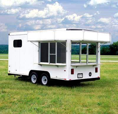 Wells Cargo CEW Series (8 Wide) Vending/ Concesion Trailer