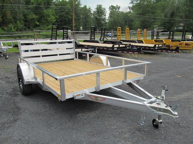 2018 H and H Trailer 6 x 12 Rail Side Utility Trailer