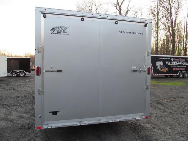 Aluminum Trailer Company Raven All Aluminum Enclosed Car / Racing Trailer