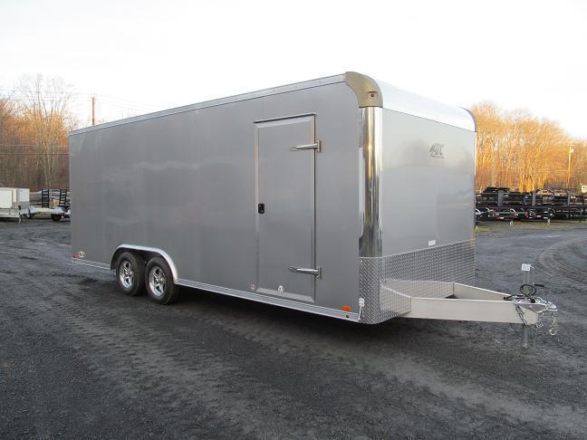 Aluminum Trailer Company Raven All Aluminum Enclosed Car / Racing Trailer